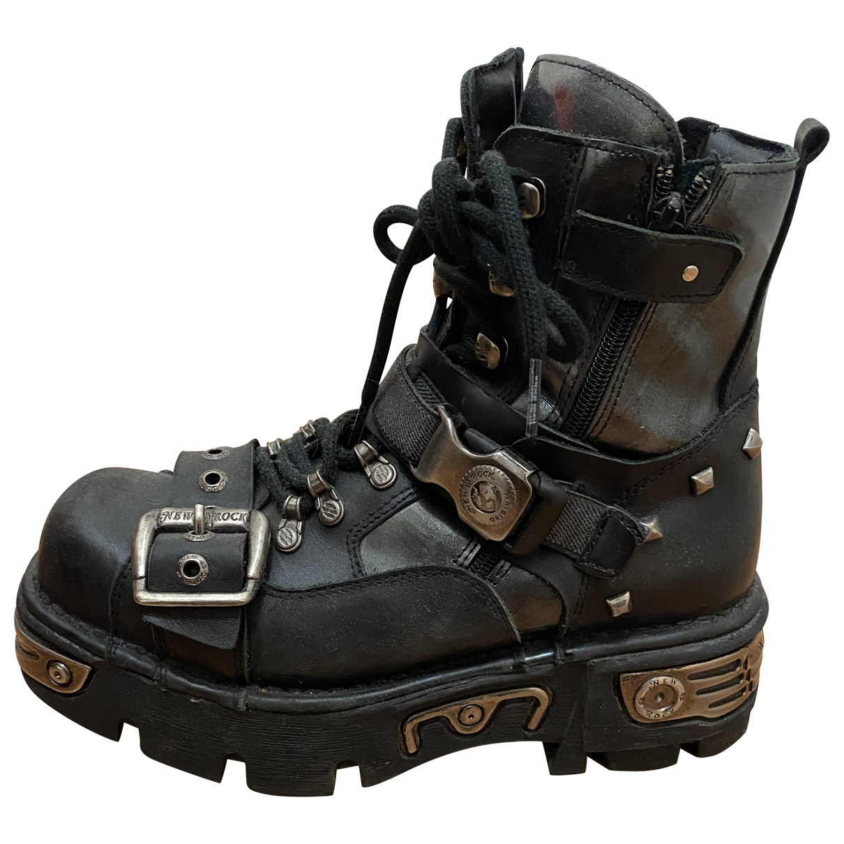 Roc Boots \N Stiefel in  Schwarz Leder