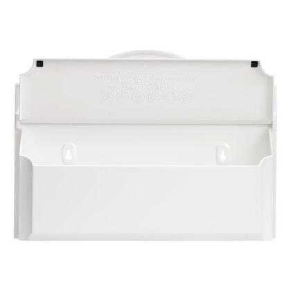 16602 Colonial Wall Mailbox with Alumi-Shield and Two keyhole mounting holes in White