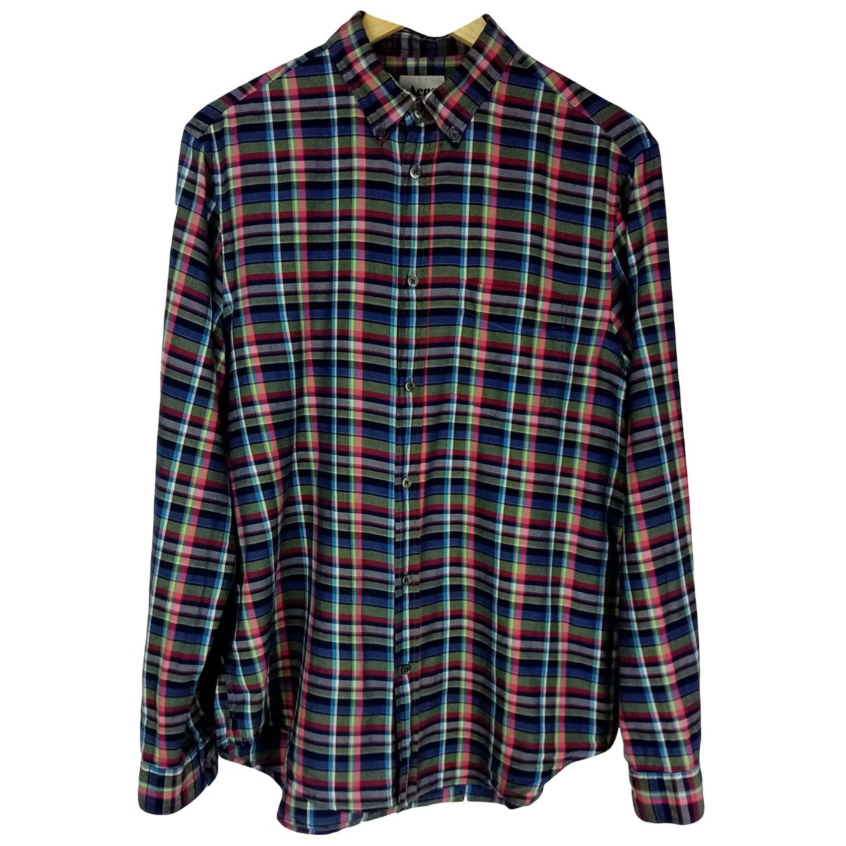 Acne Studios \N Multicolour Cotton Shirts for Men S International
