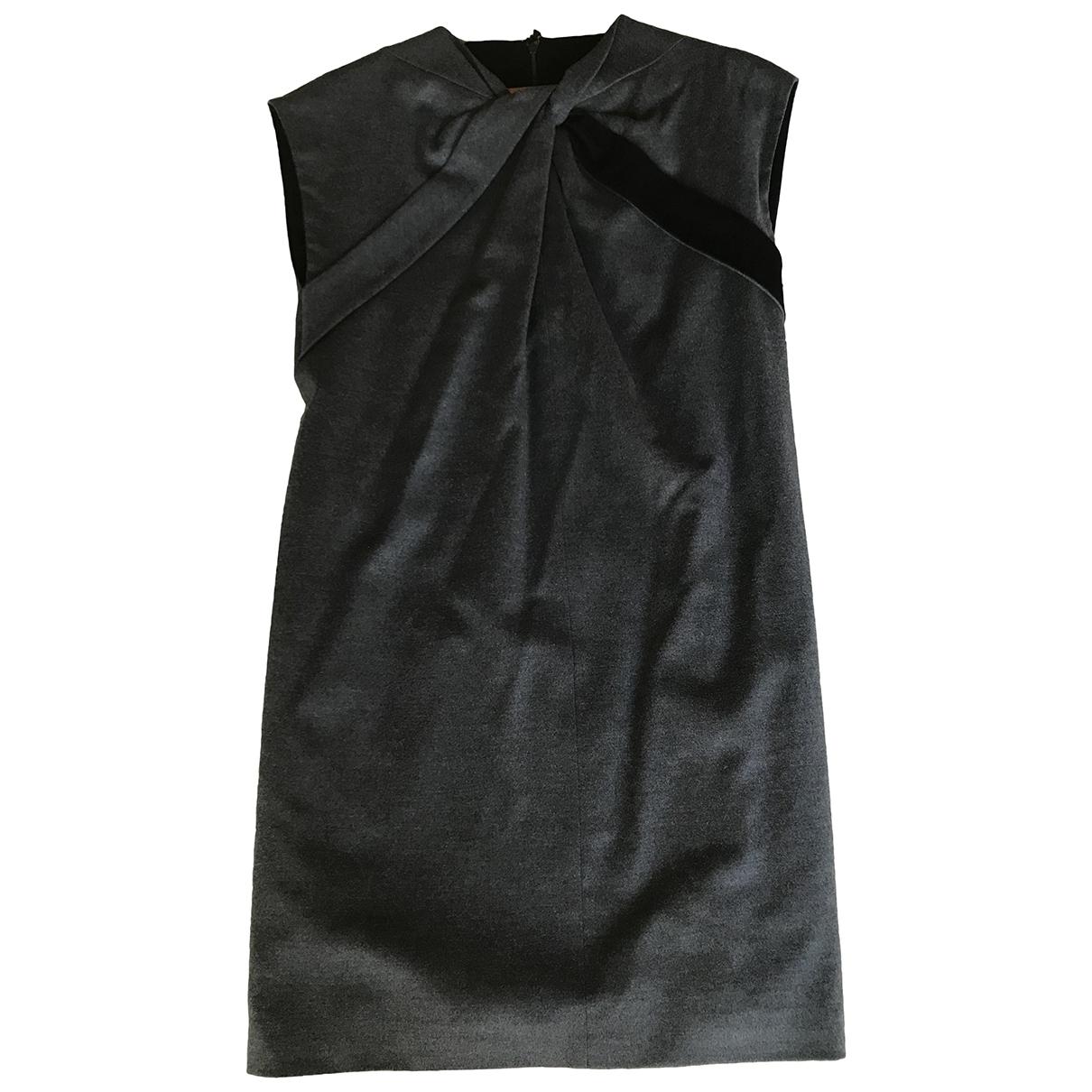 Gucci - Robe   pour femme en laine - gris