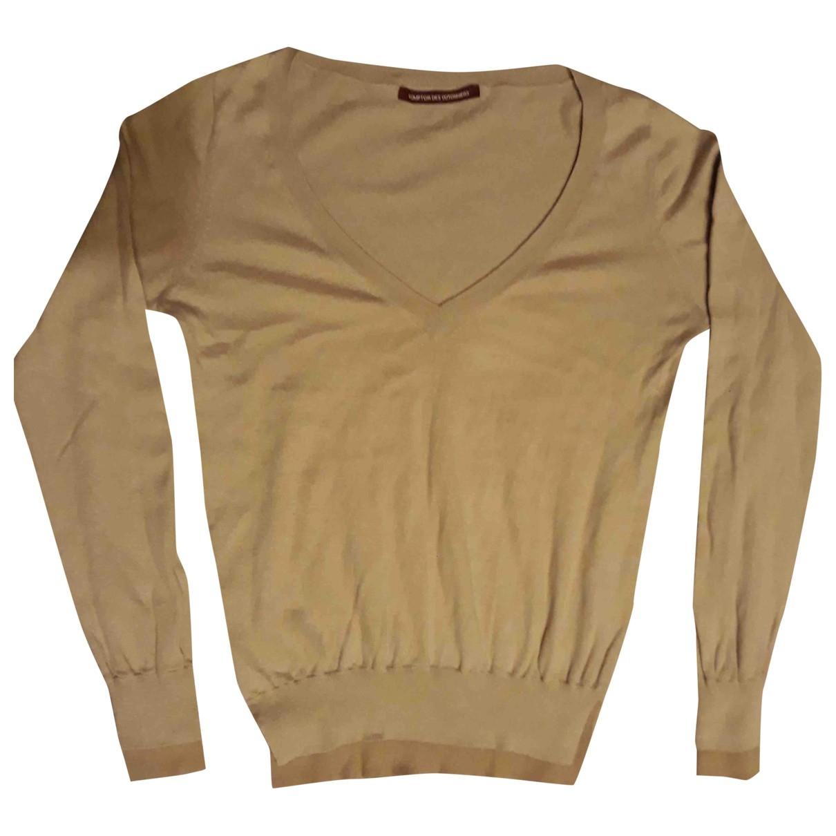 Comptoir Des Cotonniers - Pull   pour femme en coton - beige