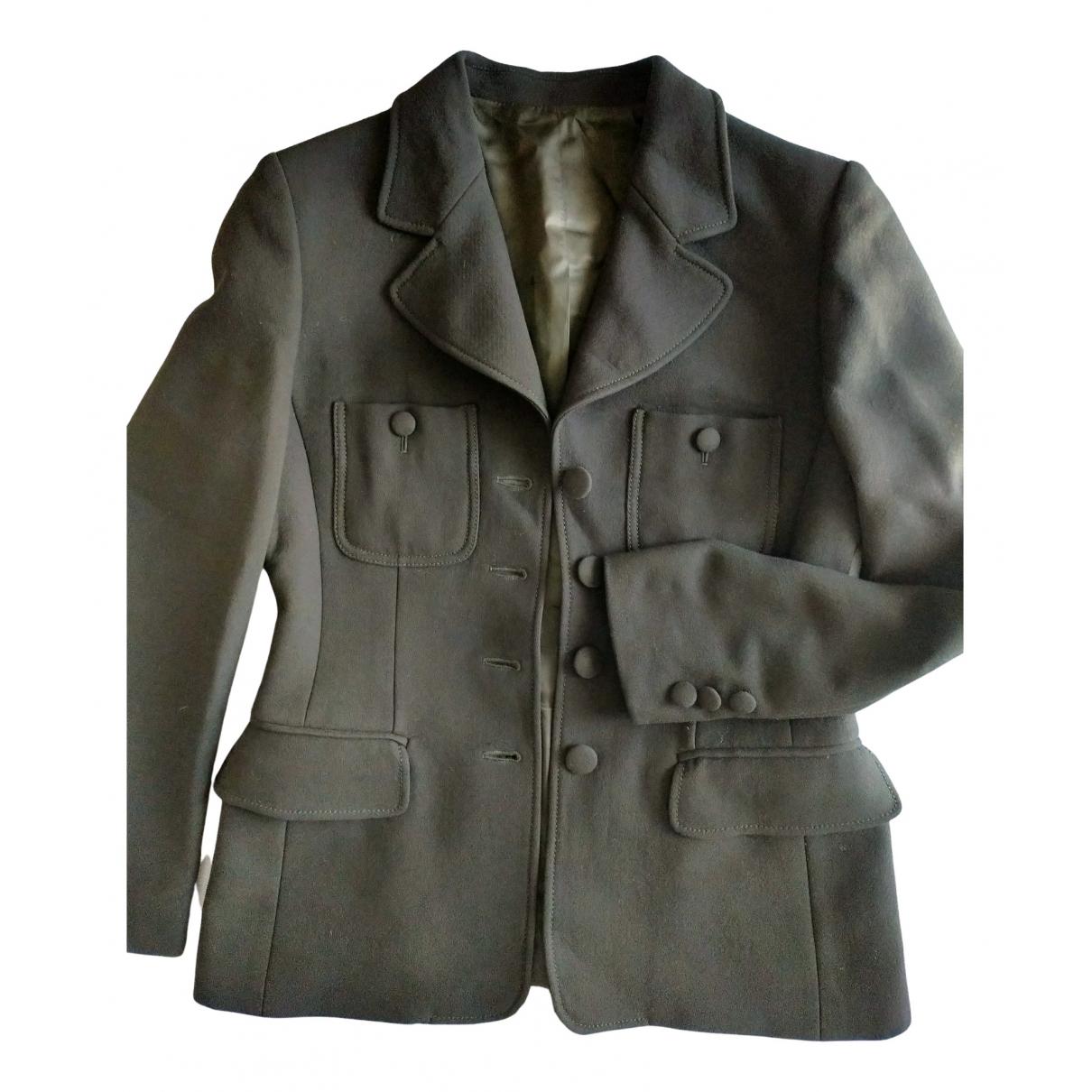 Moschino - Veste   pour femme en laine - noir