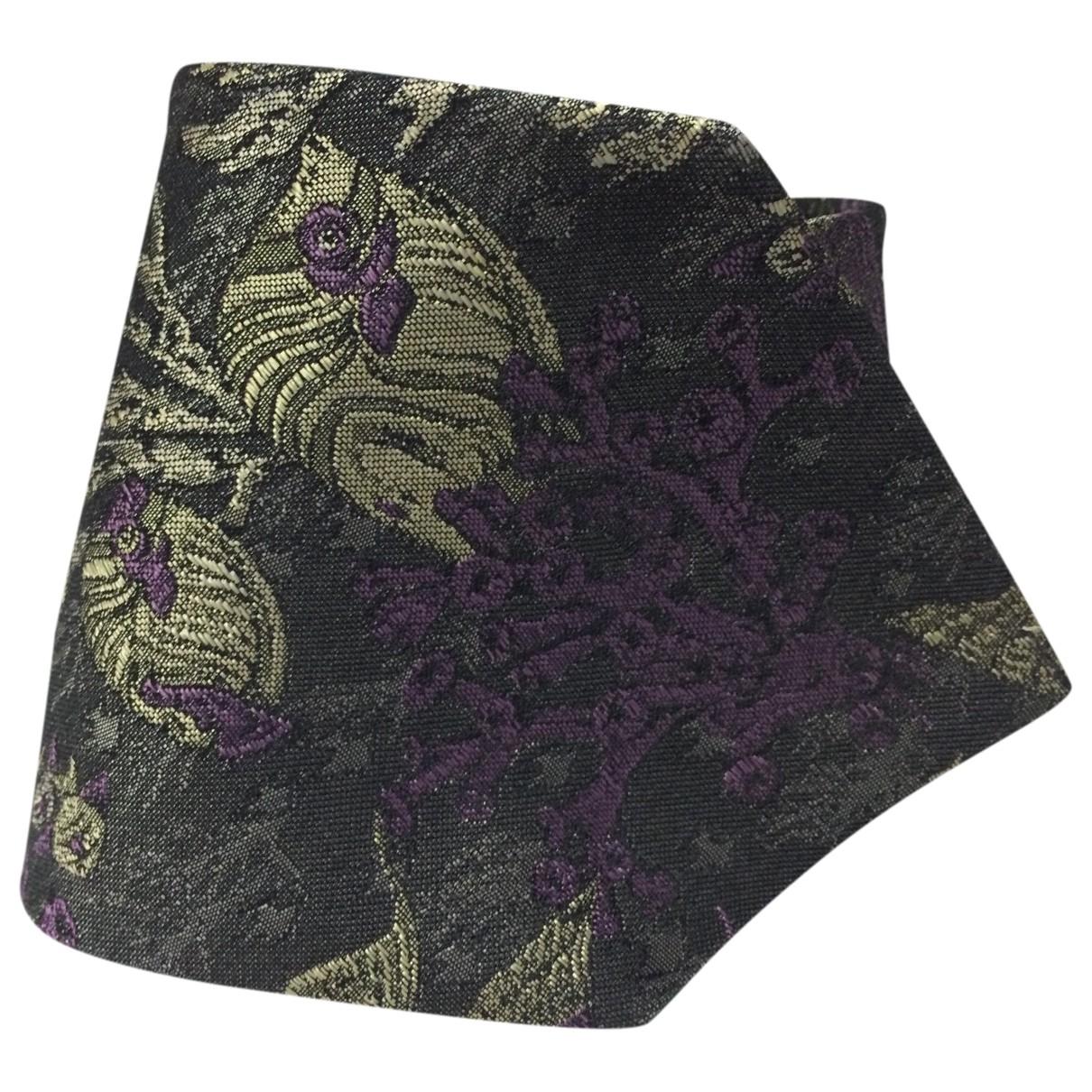 Moschino \N Krawatten in  Bunt Seide
