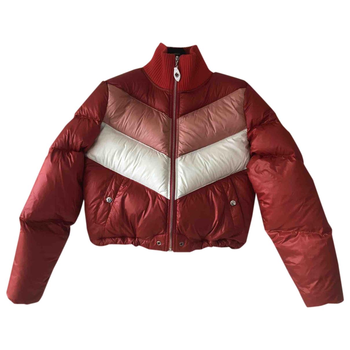 Louis Vuitton - Manteau   pour femme en polyamide - rouge