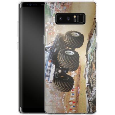 Samsung Galaxy Note 8 Silikon Handyhuelle - Old School Jump von Bigfoot 4x4