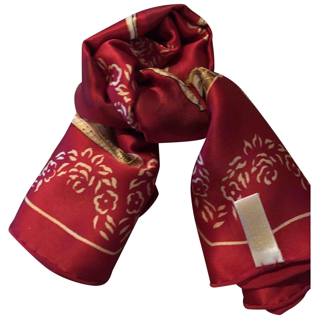 Cartier \N Schal in  Rot Seide