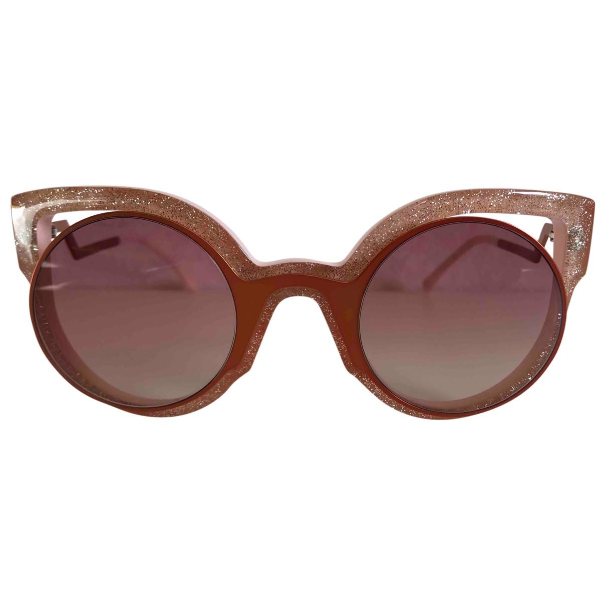 Fendi \N Pink Sunglasses for Women \N