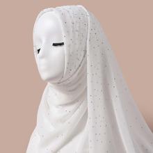 Schal mit Strass Dekor