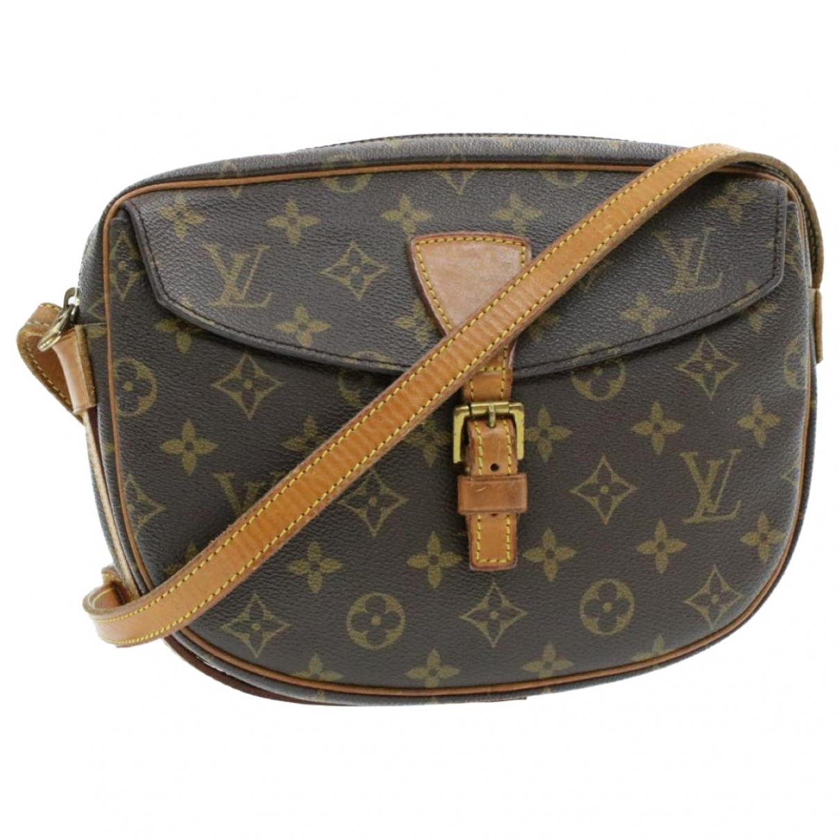 Louis Vuitton Jeune fille  Handtasche in  Braun Leinen