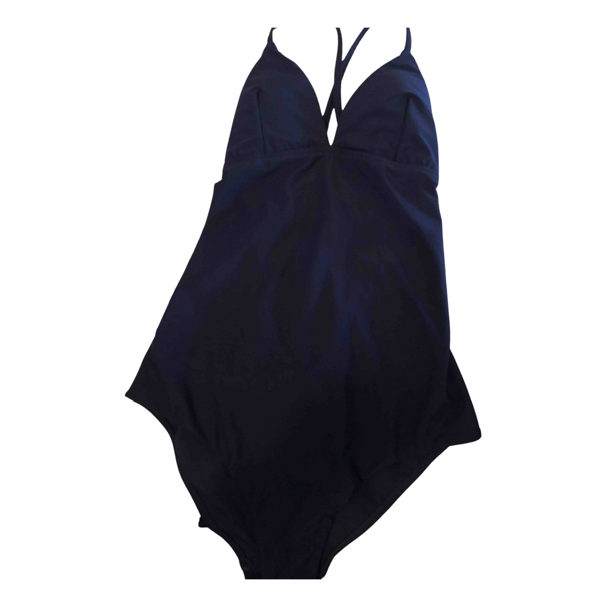 Non Signé / Unsigned \N Blue Lycra Swimwear for Women 36 FR