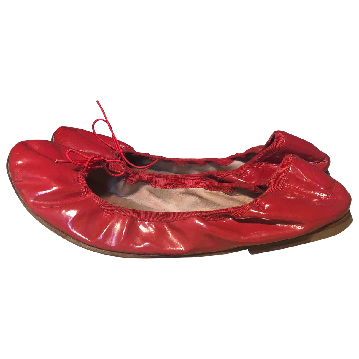 Bloch \N Red Patent leather Ballet flats for Women 39 EU