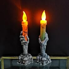 1pc Random Skeleton Candle Shaped Light