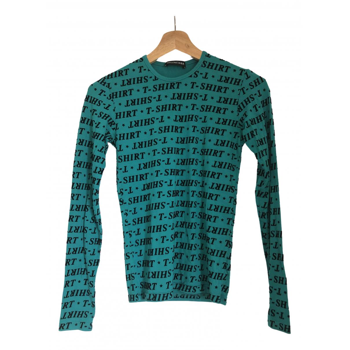Balenciaga \N Green  top for Women 36 FR