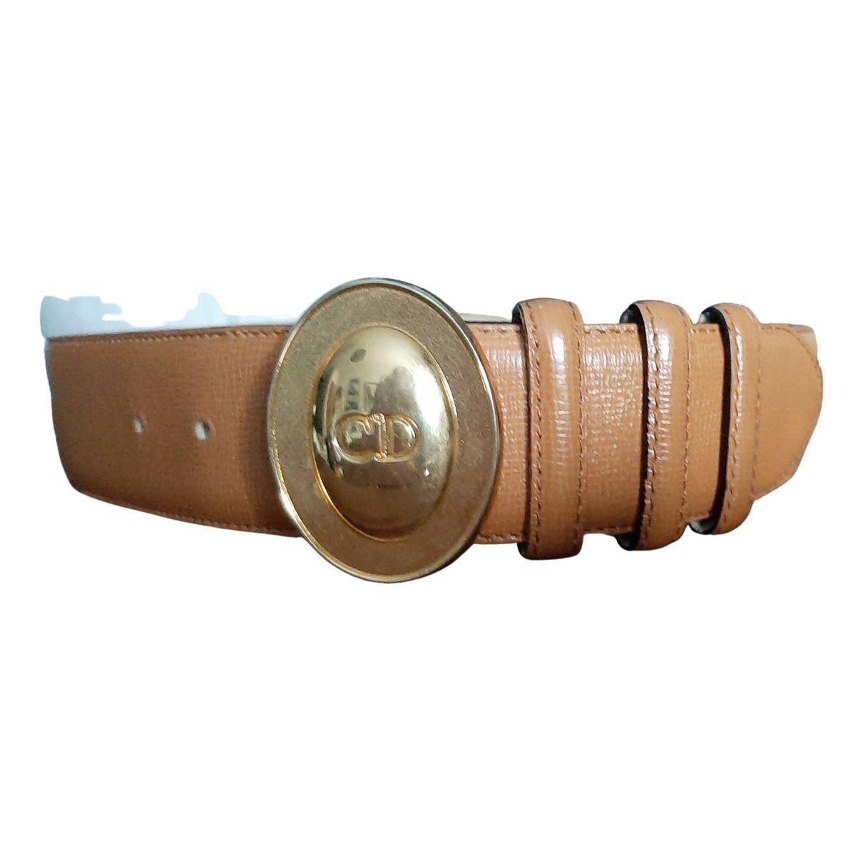 Dior \N Brown Leather belt for Women S International