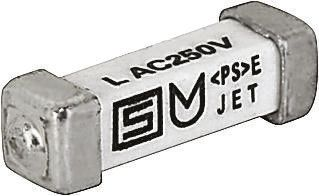 Schurter 315mA T Non-Resettable Surface Mount Fuse, 125 V dc, 250 V ac (10)