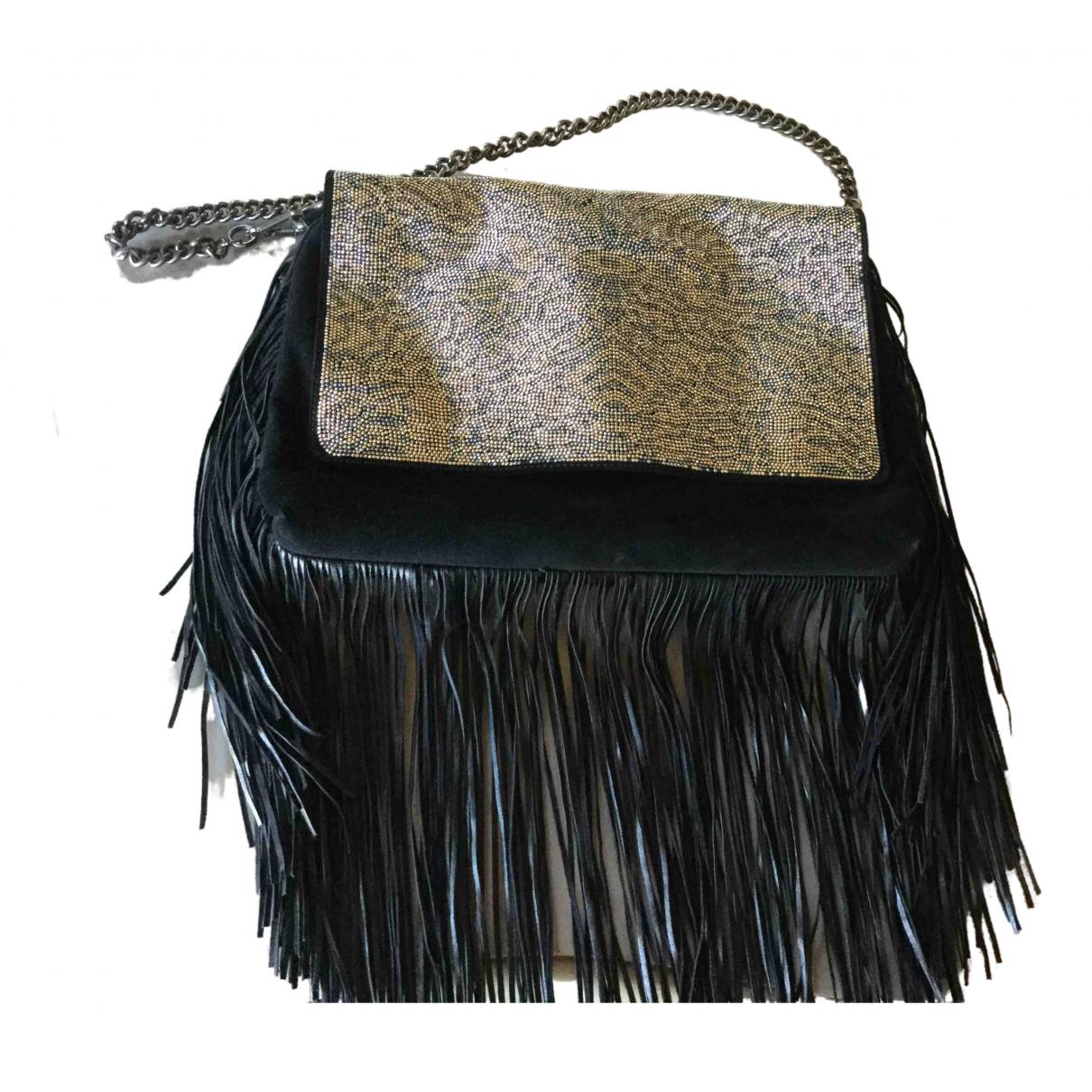 Just Cavalli \N Black Suede handbag for Women \N