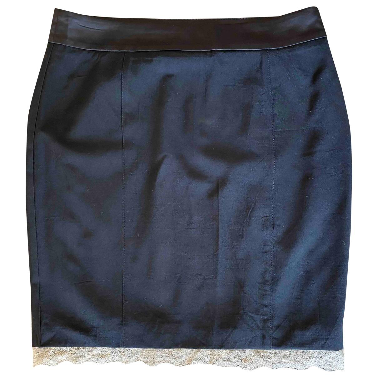 Red Valentino Garavani \N Black Wool skirt for Women 46 IT