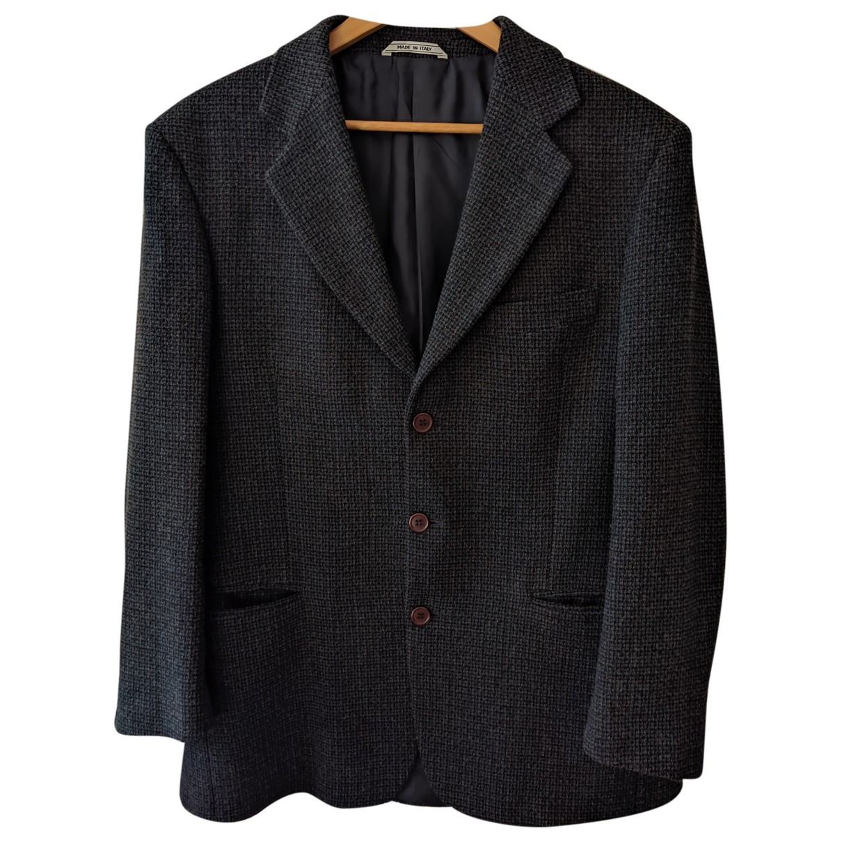 Non Signé / Unsigned \N Wool jacket  for Men 50 IT