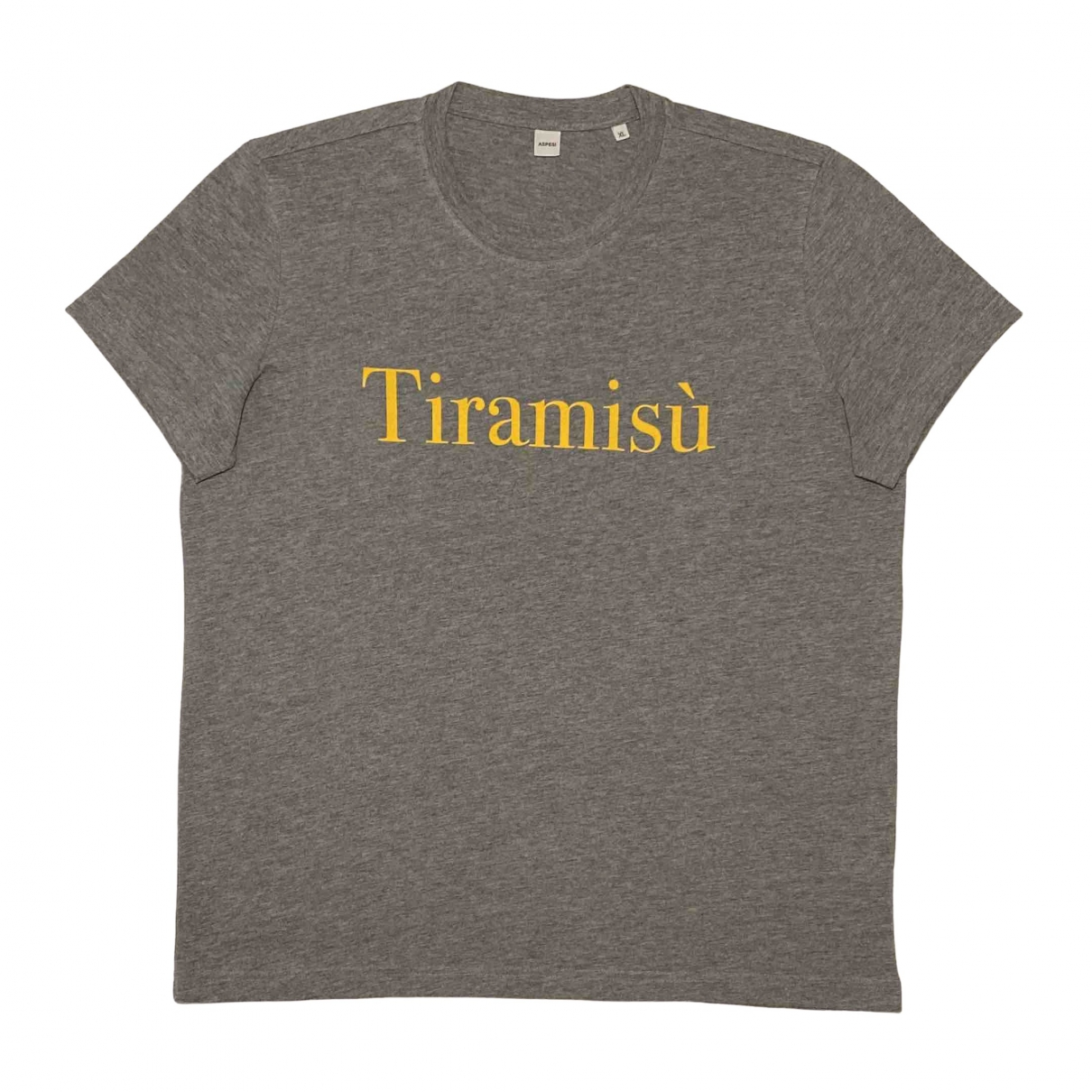 Aspesi - Tee shirts   pour homme en coton - gris