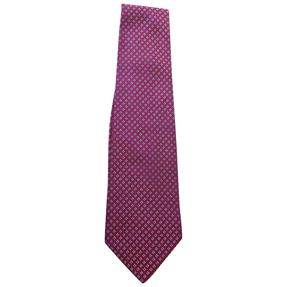 Polo Ralph Lauren \N Krawatten in  Rot Seide