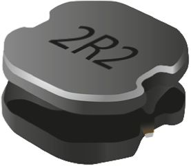 Bourns , SRN8040, 8040 Shielded Wire-wound SMD Inductor with a Ferrite Core, 47 μH ±20% Wire-Wound 1.5A Idc (10)