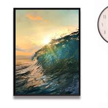 Sea Wave Print DIY Diamond Painting Without Frame