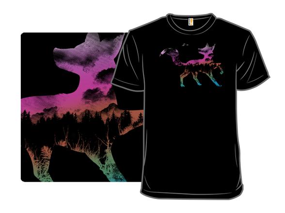 Twilight Fox T Shirt