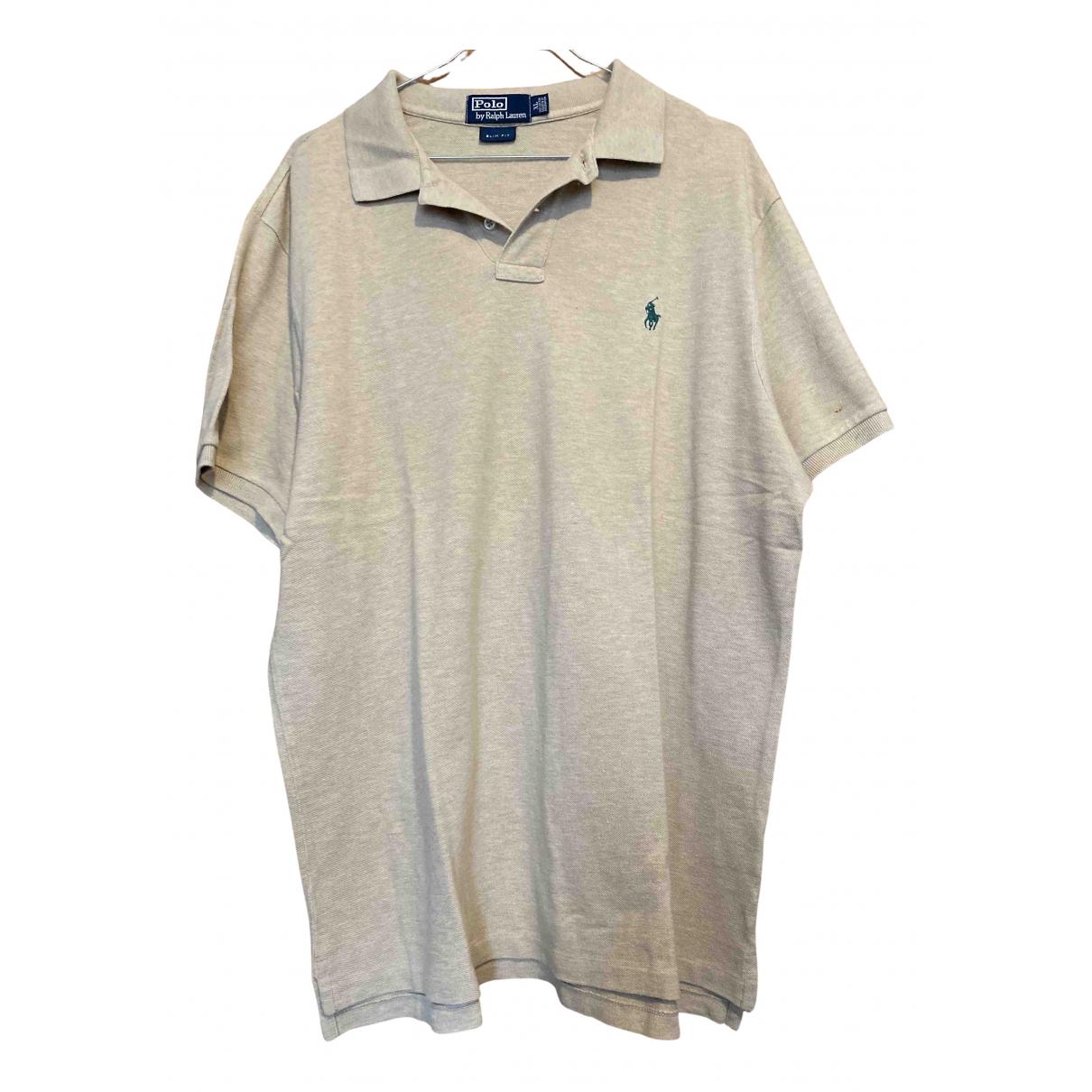 Polo Ralph Lauren - Polos   pour homme en coton - beige