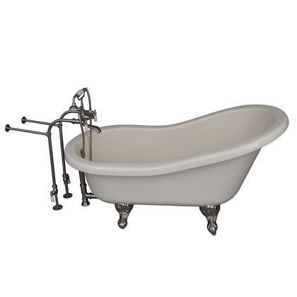 TKATS60-BBN1 Tub Kit 60 AC Slipper  Tub Filler  Supplies  Drain-Brush