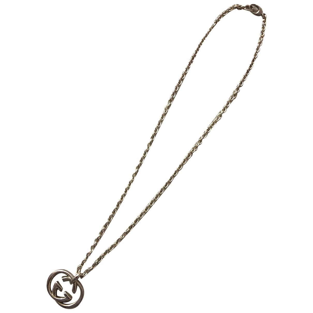 Gucci Icon Kette in  Silber Silber