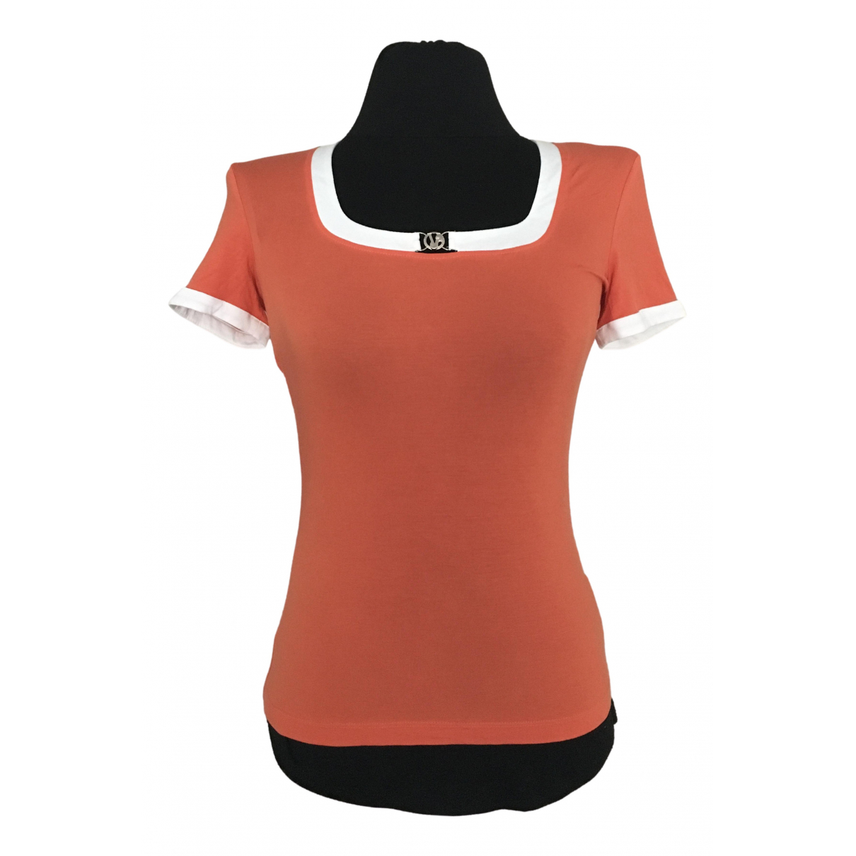 Versace Jean - Top   pour femme - orange