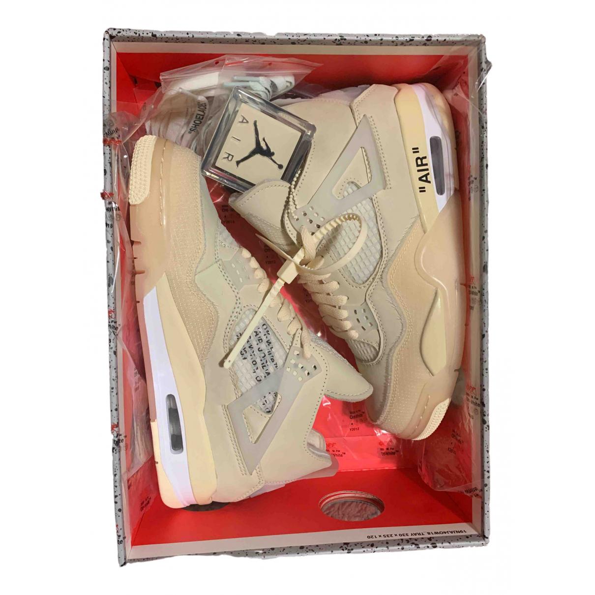 Jordan Air Jordan 4 Sneakers in Leinen