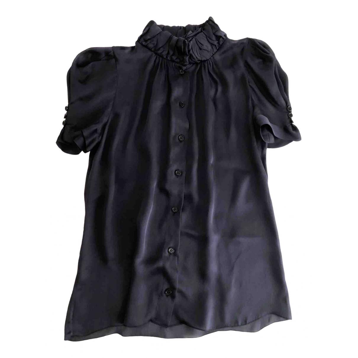 Prada \N Blue Silk  top for Women 38 IT