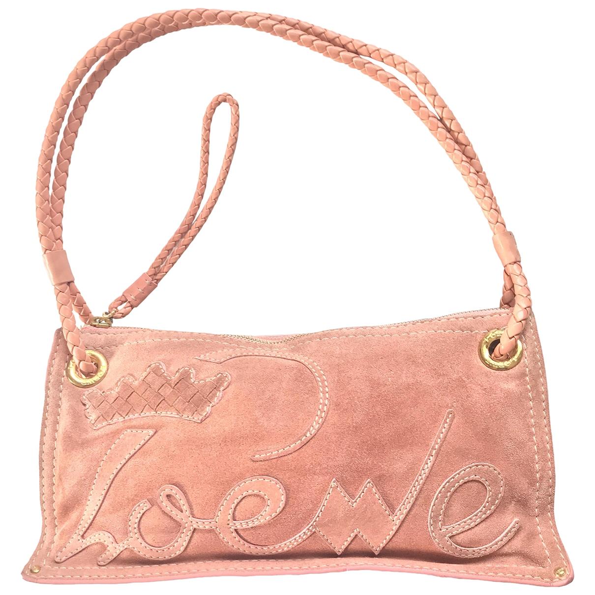 Loewe N Pink Suede handbag for Women N