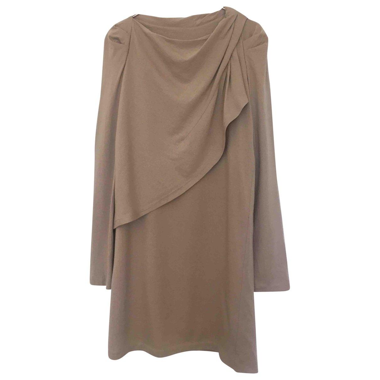 Vanessa Bruno - Robe   pour femme en laine - beige