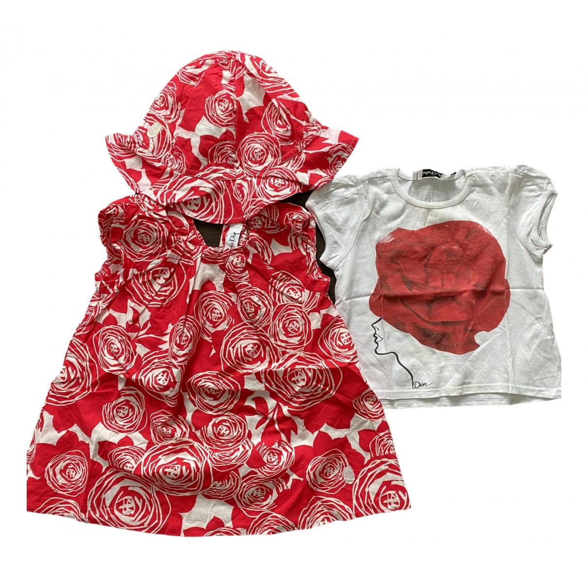 Mini vestido Baby Dior