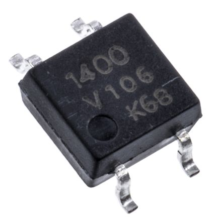 Vishay 0.1 A Solid State Relay, PCB Mount, MOSFET, 60 V Maximum Load (5)