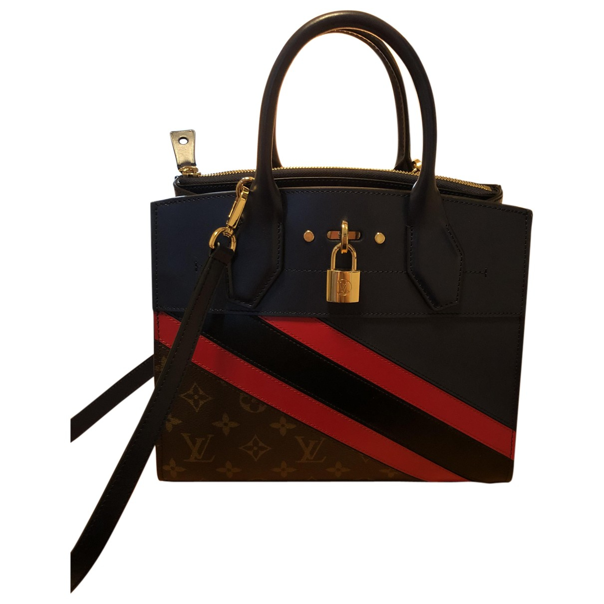Louis Vuitton City Steamer Multicolour Leather handbag for Women \N