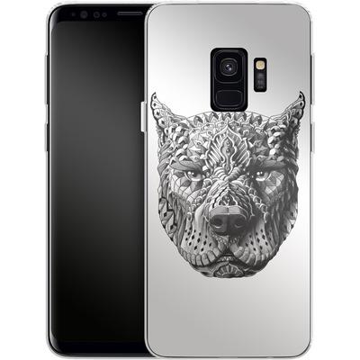 Samsung Galaxy S9 Silikon Handyhuelle - Pitbull von BIOWORKZ