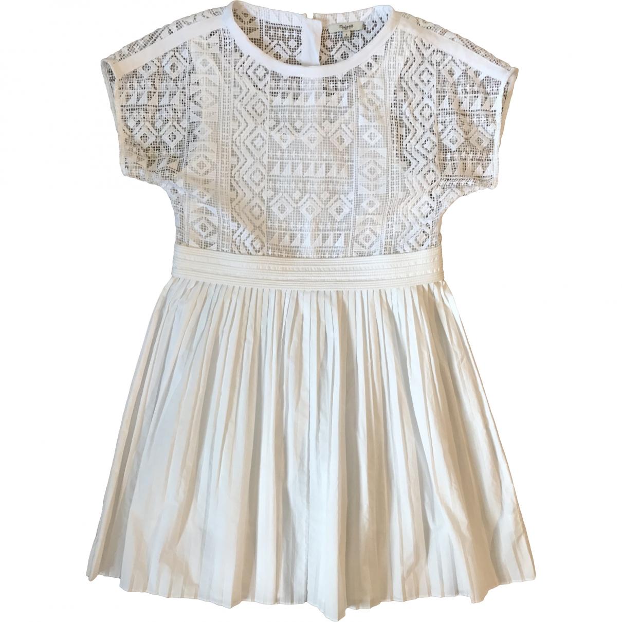 Madewell \N White Cotton dress for Women 10 UK