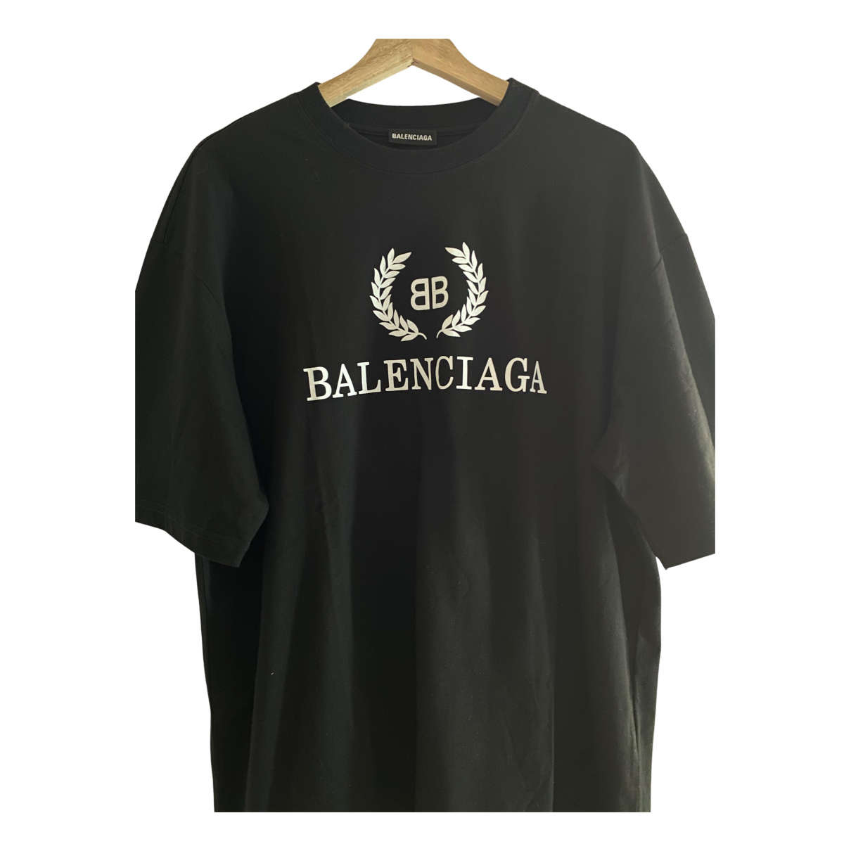 Balenciaga N Black Cotton T-shirts for Men S International