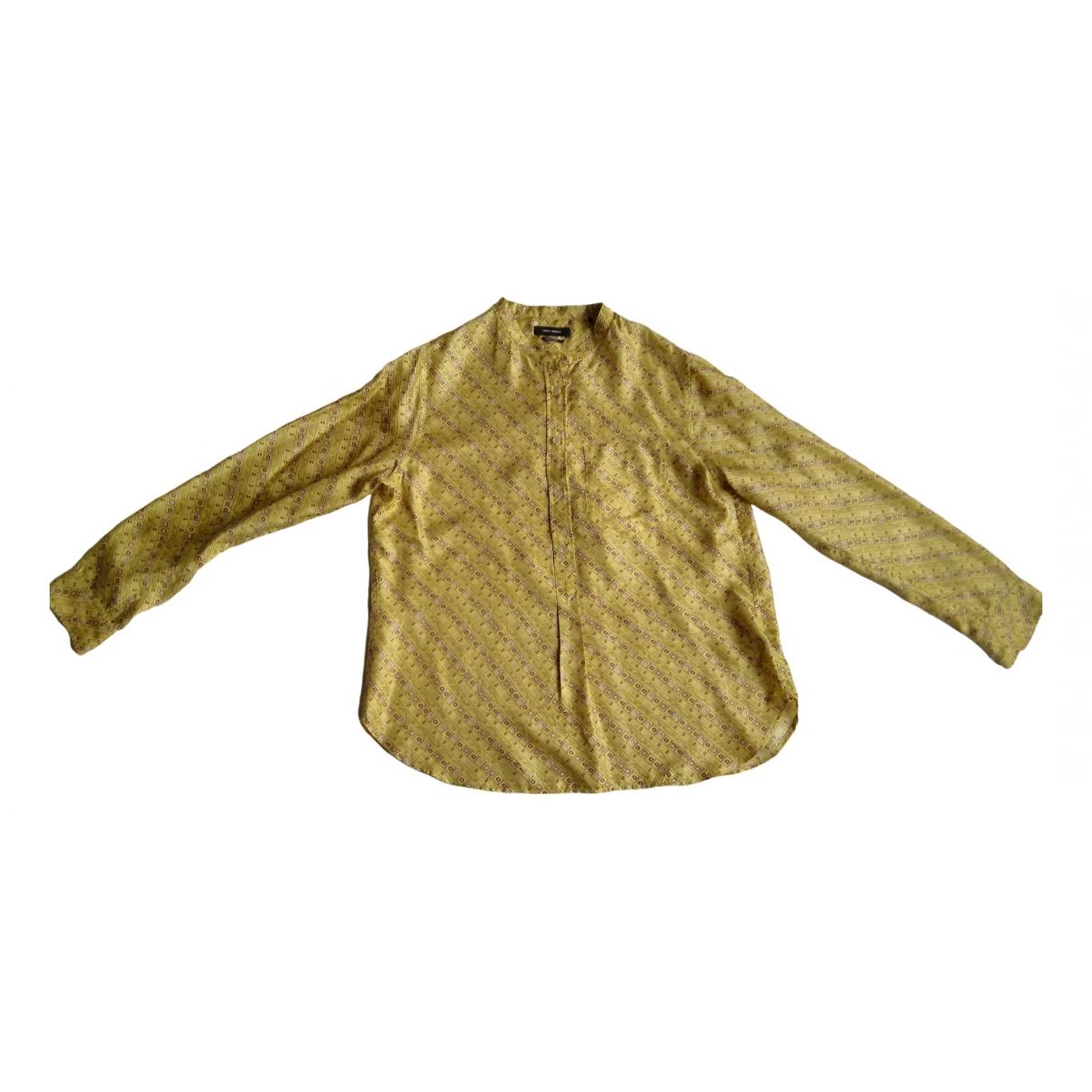 Isabel Marant \N Yellow Silk  top for Women 44 FR