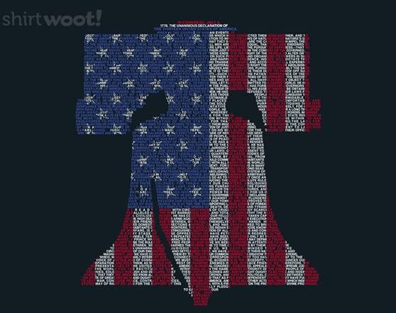 Liberty Bell T Shirt