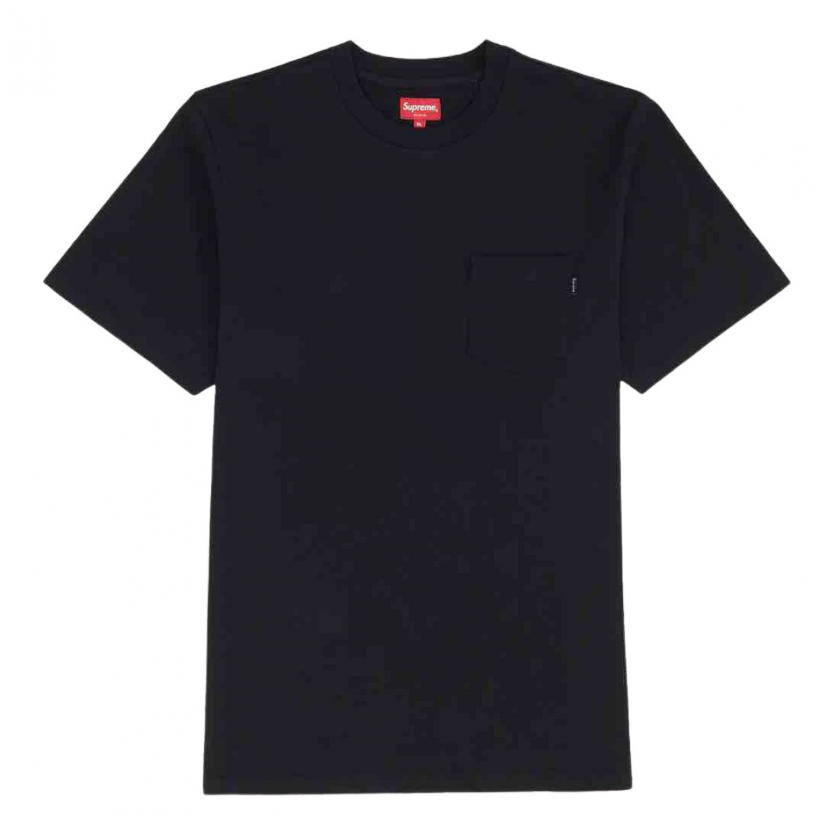 Supreme - Tee shirts   pour homme en coton - noir