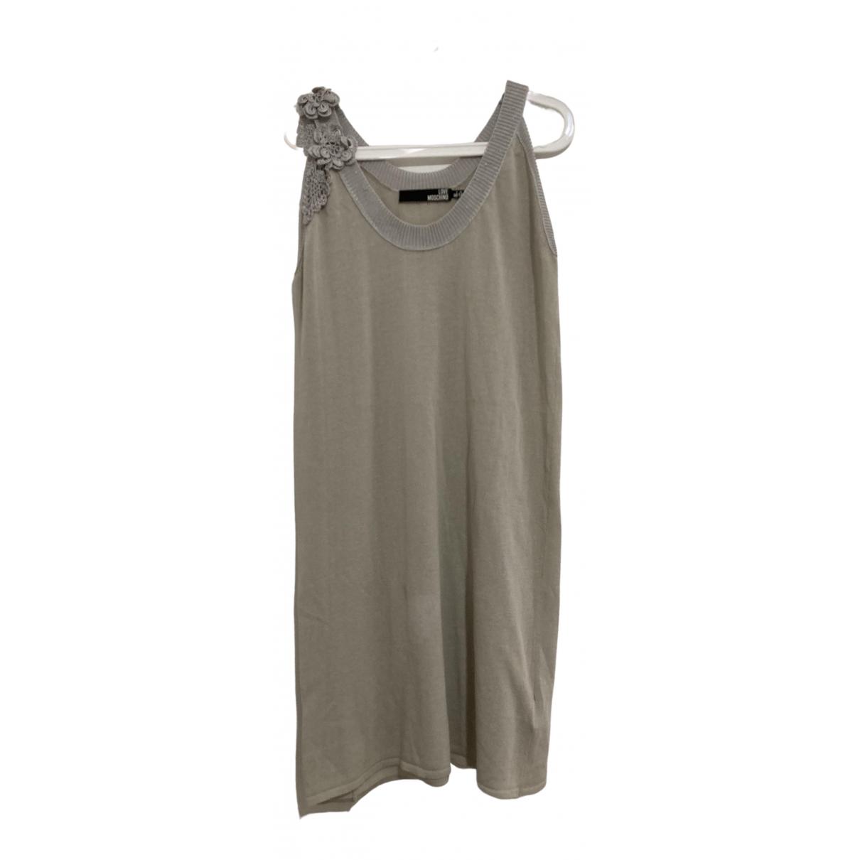 Moschino Love - Pull   pour femme en coton - beige