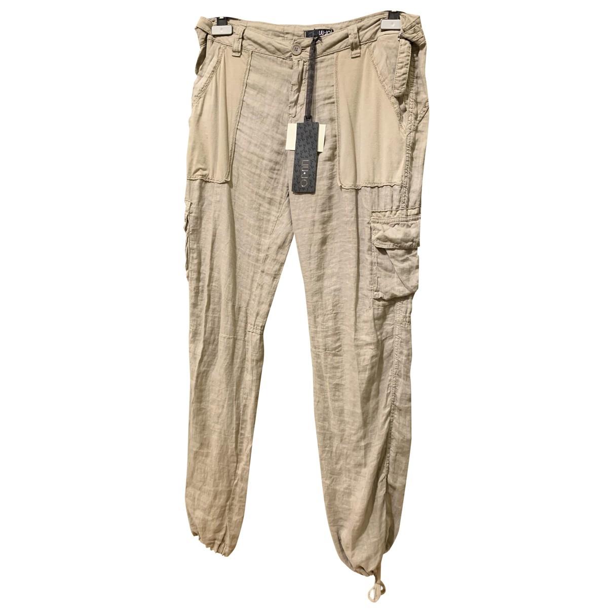 Pantalon largo de Lino Liu.jo