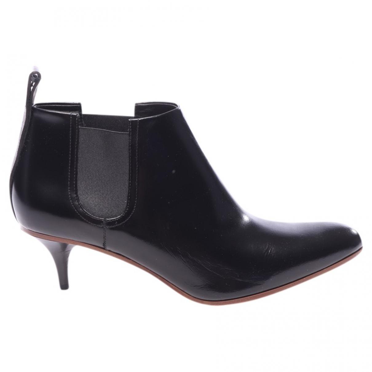 Acne Studios - Boots   pour femme en cuir - noir