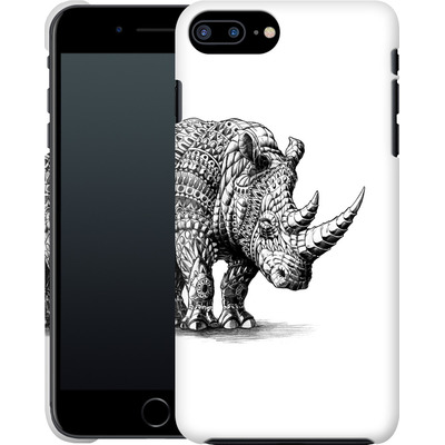 Apple iPhone 7 Plus Smartphone Huelle - Rhinoceros von BIOWORKZ
