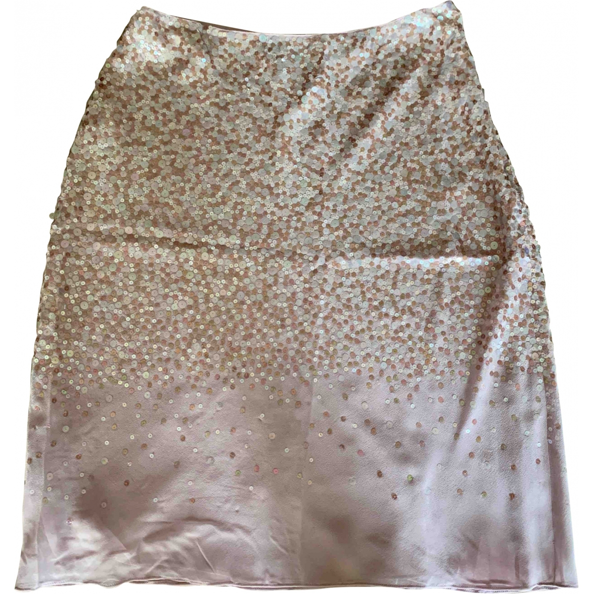 Dkny \N Pink Silk skirt for Women 4 US
