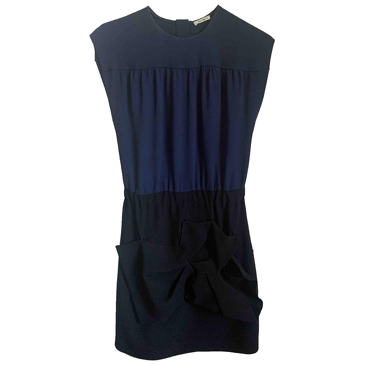 Miu Miu \N Blue dress for Women 38 FR